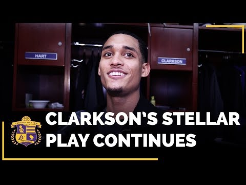 Jordan Clarkson Continued His Stellar Play In Lakers Win Over New York Knicks