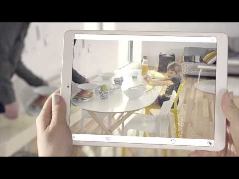 ikea 2016 catalogue augmented reality youtube. Black Bedroom Furniture Sets. Home Design Ideas