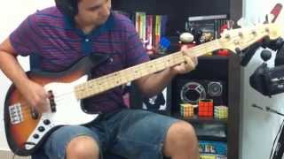 Blink 182 All The Small Things Bass Cover
