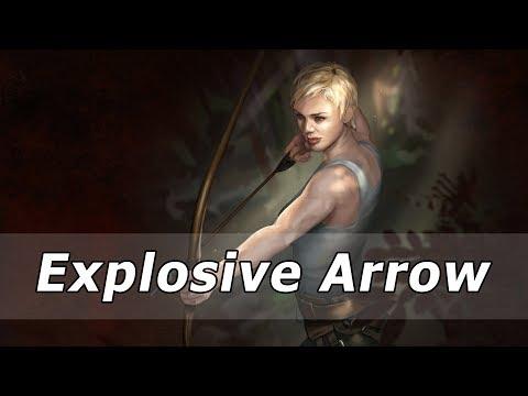 PoE 3.0 Explosive Arrow vs. T16 Hydra - WITH MF (IIQ/IIR) GEAR - Over 7000 Life!