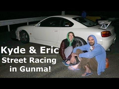 Street Racing in Gunma, Japan!