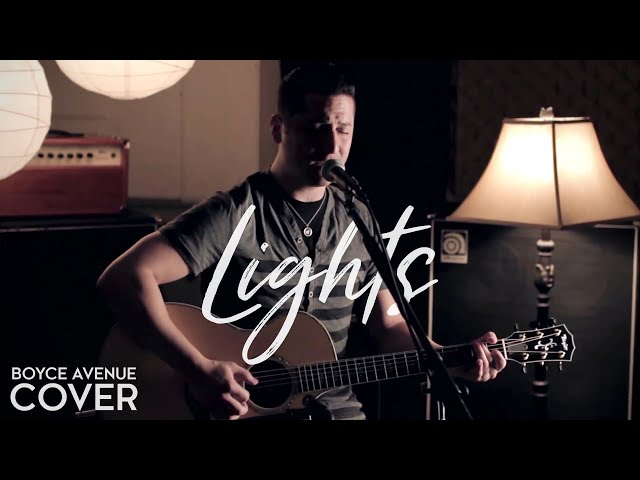 Ellie Goulding - Lights (Boyce Avenue acoustic cover) on Spotify & Apple
