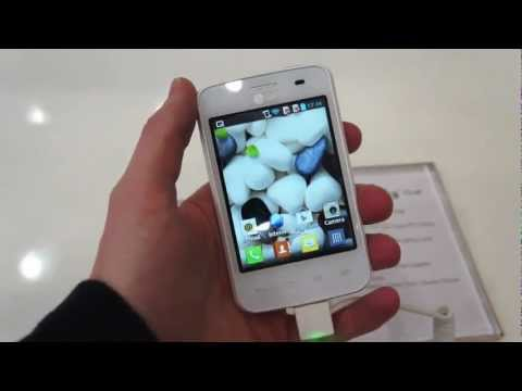 LG Optimus L3 II [Hands-on][MWC 2013][HD]