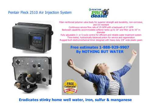 Best Pentair Water Softener Systems 1-888-929-9907