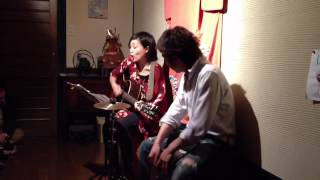 2012.4.21(Sat) AKIRA X AKIRA accoustic live (Vol.4) @ 88cafe in Hig...