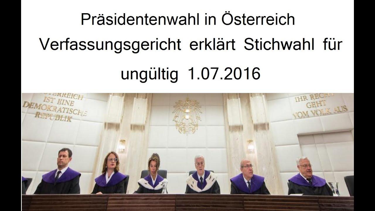 österreich präsidentenwahl