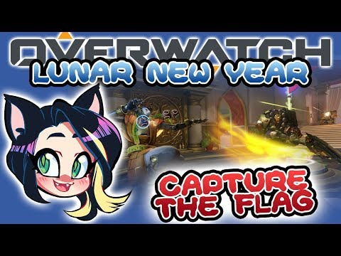 OVERWATCH LUNAR NEW YEAR - Capture the Flag! - Kitty Kat Gaming