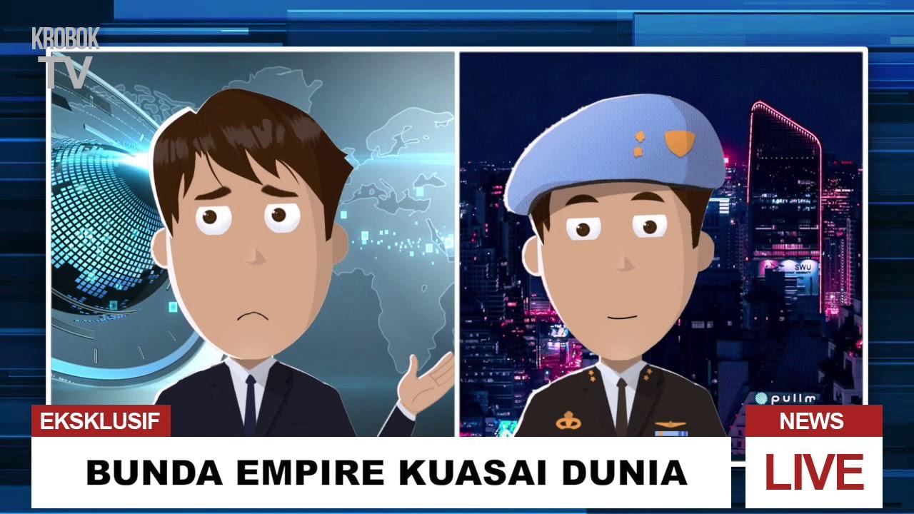 Sunda Empire Menguasai Dunia Kartun Animasi Parodi