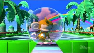 Super Monkey Ball: Step & Roll Nintendo Wii Trailer - Reveal Trailer