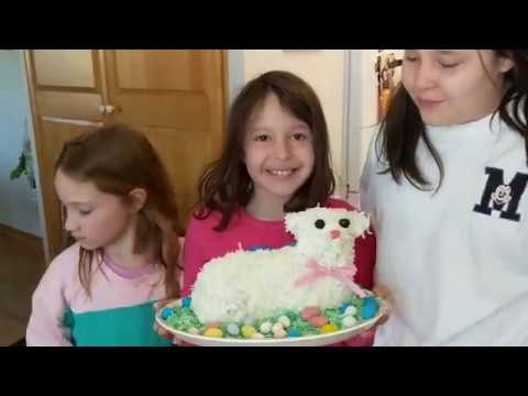 How to Make an Easter Lamb Cake