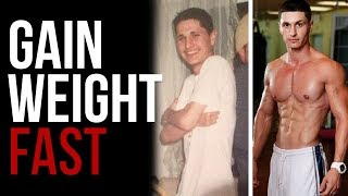 How to Gain Weight Fast for Skinny Guys (5-Step Solution)