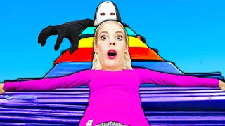 We Made the WORLD'S LARGEST Giant Gymnastics Fort! (Hide and Seek w/ RZ Twin ) Rebecca Zamolo