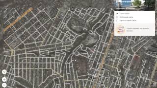 видео Карта Екатеринбурга с улицами и домами, маршрутами онлайн