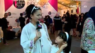 Entertainment News - Moza Pramita tampil kompak dengan anak