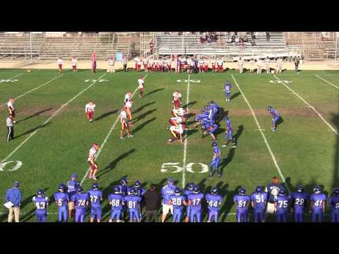 Menlo Atherton High Frosh/Soph football versus south san francisco high school october 11, 2013