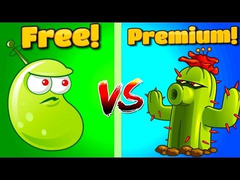 Plants vs Zombies 2 CACTUS Vs LASER BEAN