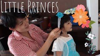 Little Princess | Mom & Daugther | Dress Up | Disney Princess | Girls Dresses | Elsa Frozen Dress