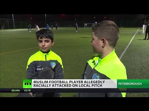 Muslim football player allegedly racially attacked on local pitch