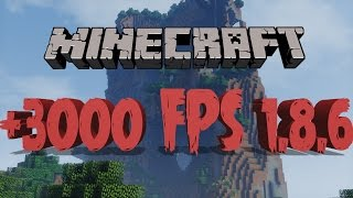★  Minecraft Tutorial: MASSIVE +3000 FPS BOOST IN MINECRAFT [ 1.8.6 ]  ★