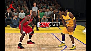 NBA 2K20 - '98 Bulls vs '01 Lakers Gameplay! NBA 2K20 XBOX ONE X