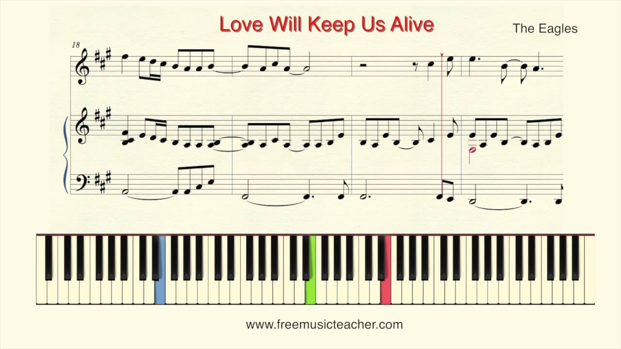 How to play piano love will keep us alive the eagles piano how to play piano love will keep us alive the eagles piano tutorial by ramin yousefi hexwebz Images