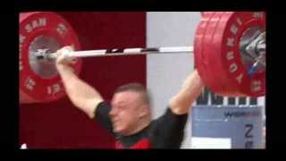 2013 World Weightlifting Championships Mens 85kg Snatch English