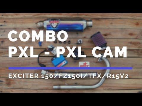 Full pô xăng lửa (PXL) cơ bản, rớt nắp (thả cam) Ex150, Fz150, TFX bao nhiêu tiền & hiệu quả ra sao?