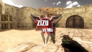 #CS16 zizu vs mix 4к