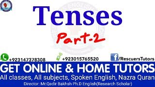 Tenses are easy. Part-2