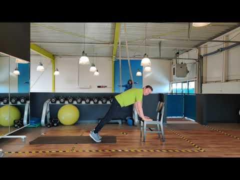 'Bewegen SAMEN naar gezondheid' met FysioCentrum Heesch en Oss. 20 MINUTEN WORKOUT 10