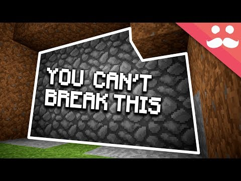 UNBREAKABLE WALL In Survival Minecraft! V2!