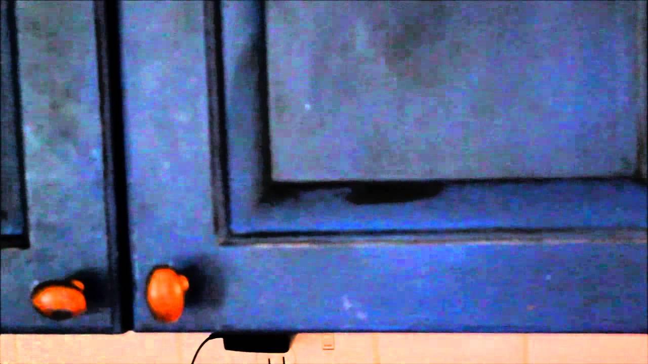 Annie Sloan Chalk Painted Kitchen Cabinets{1 Year Update