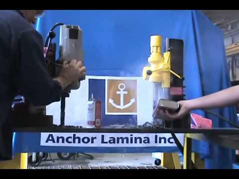 Lamina Drill Test Video - Anchor Lamina America, Inc.