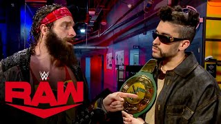 Elias wants to collaborate with Bad Bunny: Raw, Mar. 1, 2021