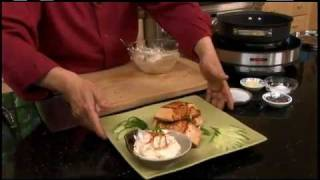 How To Cook Seared Salmon With Chili Garlic Mayonnaise - Easy Meals - Circulon Presents Martin Yan
