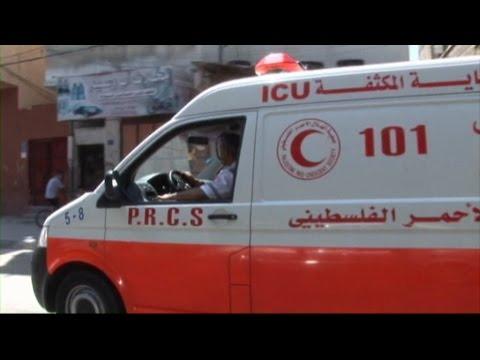 Proche-Orient : être ambulancier à Gaza - Express Orient