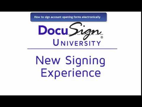 How to use Docusign with Atlantis Financial Inc