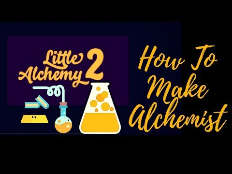Little Alchemy 2: How To Make Alchemist