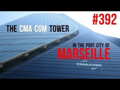 #392 The CMA CGM Tower In The Port City Of Marseille