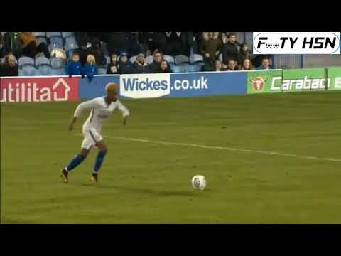 Charly Musonda Superb Free Kick - Portsmouth vs Chelsea U21 1-2 - Football League Trophy 09-01-2018