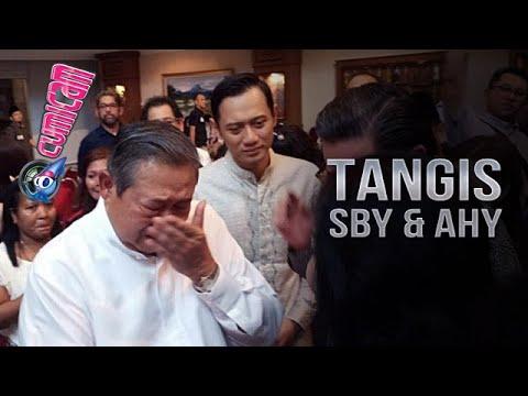 Tangis SBY Dan AHY Di Acara Tahlilan Almh. Ani Yudhoyono -Cumicam