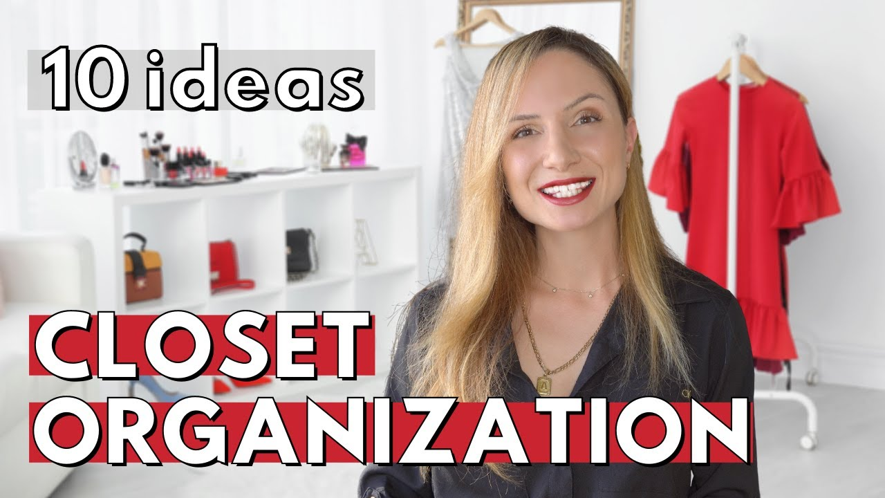 Download 10 Clever Closet Organization Ideas That Will CHANGE YOUR LIFE!