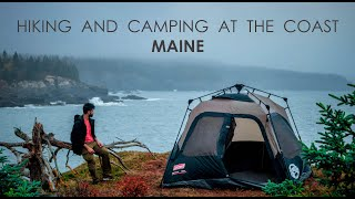 hiking and camping aт the Cutler Coast | MAINE