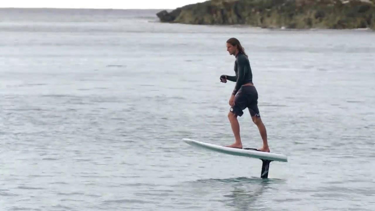 Lift Foil Efoil Electric Hydrofoil Surfboard Barcelona Takeoff Barcelona Youtube