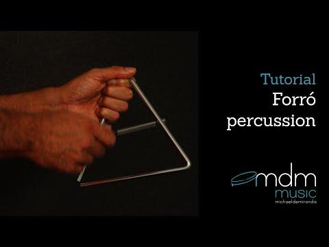 Forró percussion lesson
