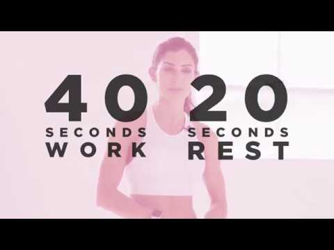 RESISTANCE BAND TUTORIAL AND 9 MINUTE WORKOUT | ALEXIA CLARK thumbnail