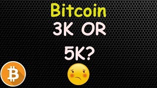 Bitcoin 3K OR 5K ? My Thoughts! 🔴 LIVE | Crypto News