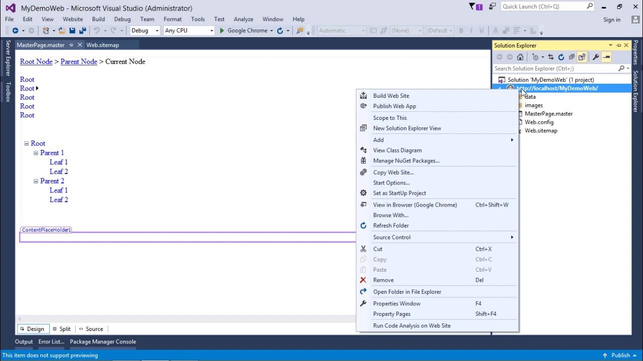 Download ASP.NET - Navigation Controls