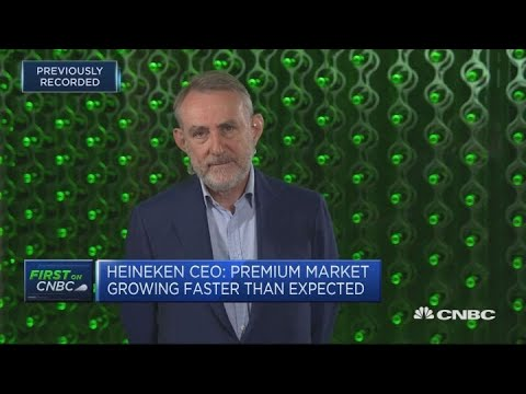Brazil weakness and strong euro are behind cut to guidance: Heineken CEO | Squawk Box Europe