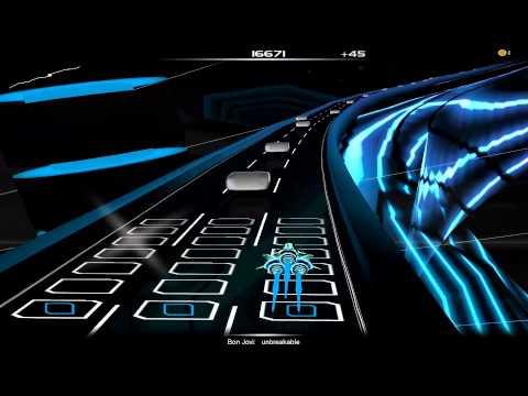 Audiosurf   Bon Jovi - Unbreakable